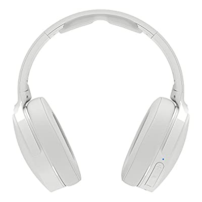 Skullcandy Hesh 3 Bluetooth Wireless Over-Ear Headphones with Microphone, Rapid Charge 22-Hour Battery, Foldable, Memory Foam Ear Cushions for Comfortable All-Day Fit, White/Crimson by Skullcandy