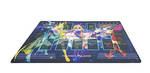 Yo-gi-oh Custom Template 2017 Master Rule 4 Link Zone Playmat Dark Magician Girls Playmat TCG Playmat MTG Playmat TCG Play mat Yogioh Playmat