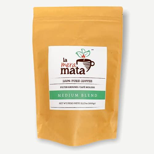 CAFE 100% PURO, TOSTADO Y MOLIDO, MEZCLA GOURMET MEDIO