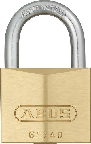 Abus - 65/40 mm messing hangslot gelijksluitend 404 - ABUKA03899