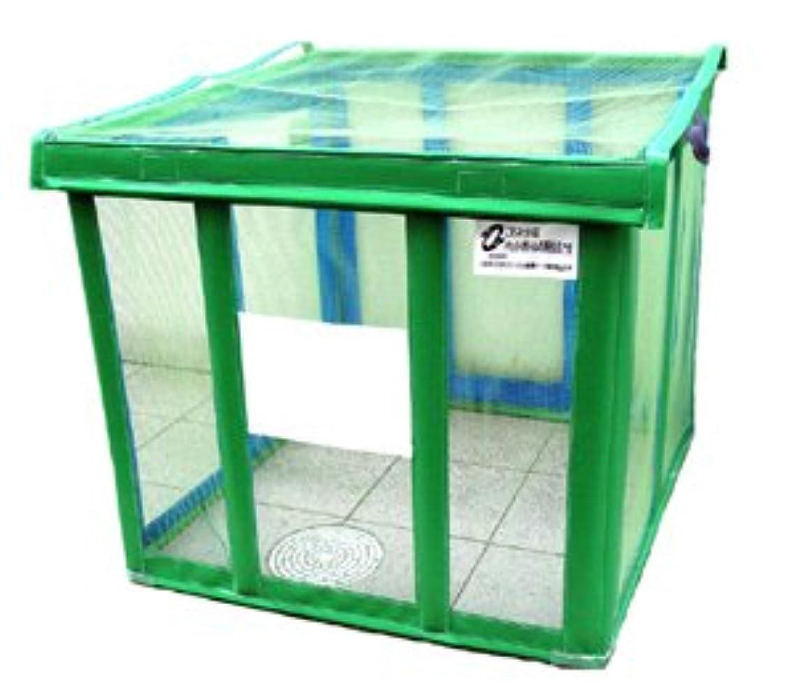 バケット蒸固めるゴミ置き場カラス対策 折りたたみ式カラス除けゴミステーション(大)