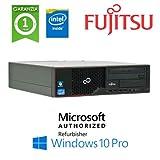 PC Fujitsu Esprimo E510 Intel G-550 2.6GHZ 4Gb Ram 500Gb DVDRW Windows 10 Professional - MAR (Ricondizionato) )