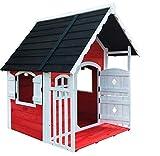 Salone Negozio Online Casita de madera Anny para niños, 120 x 130 x 140 cm, juego de jardín
