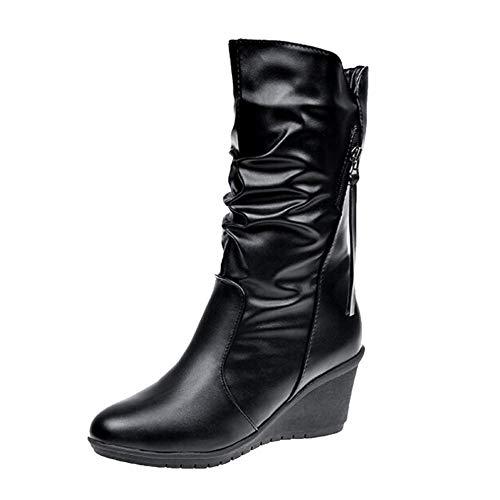 ALIKEEY Aire Libre Y Deportes Zapatos Casuales Mocasines De Cuero Suave Cómodos Antideslizantes para Mujer Erano