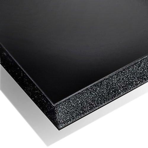Cathedral - Cartón pluma (10 unidades, tamaño A3), color negro