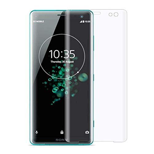 """XMTN Sony Xperia XZ3 5.7"""" Pellicola Protettiva,3D Copertura Completa in Durezza 9H Vetro Temperato Protezione Schermo per Sony Xperia XZ3 Smartphone (Trasparente)"""