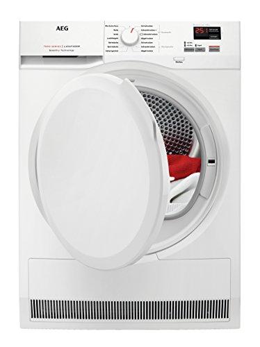 AEG T7DBZ4680 Wärmepumpentrockner / SensiDry – schonend und energiesparend / 8,0 kg / Mengenautomatik / Knitterschutz / Kindersicherung / Startzeitvorwahl