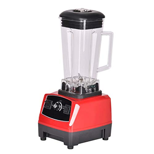 2200W BPA FREE 3HP 2L G5200 high power commercial home professional smoothies power blender food mixer juicer fruit processor,RED