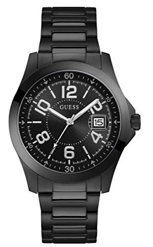 Guess Reloj Analógico para Hombre de Cuarzo con Correa en Acero Inoxidable W1103G2