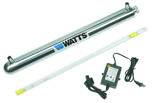 Watts Premier WP270154 270154 8-GPM 3/4-Inch 110-Volt UV Disinfection System
