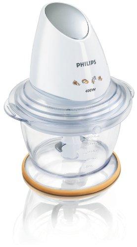 Philips HR1396/55 Tritatutto da 400 W con Ciotola da 1 L