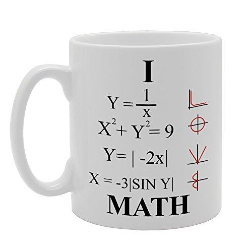 Le mug LOVE pour passionnés de maths