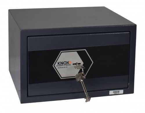 Knoxsafe Secknox1K S2 Tresor Safe, Möbeltresor bis 20.000 €, 220 x 350 x 300 mm