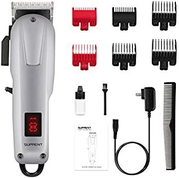 Suprent Professional Cordless Hair Clippers for Men