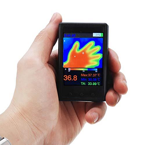 ICENCREN Tragbare Infrarot-Thermometer Wärmebildkamera USB-Schnittstelle 2.4 Zoll LCD-Schirm 24 * 32 Auflösung, Temperaturbereich -40 ° C ~ 300 ° C