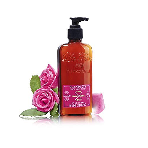 Shampoing à la Rose pour cheveux secs et fragiles - LA FARE EN PROVENCE - 200ml