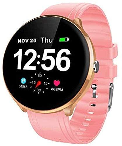 Reloj Inteligente Mujeres Y Hombres IP67 Impermeable Monitoreo de Ritmo Cardíaco Pulsera SMS Recordar Actividad Tracker Bluetooth Smartwatch para Android e IOS-D
