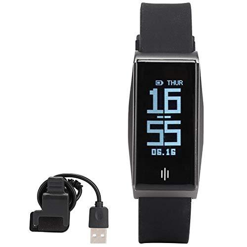 Wosune Pulsera con Monitor de frecuencia cardíaca BL86 Bluetooth, Pulsera Inteligente, niño Mayor para Mujer Hombre