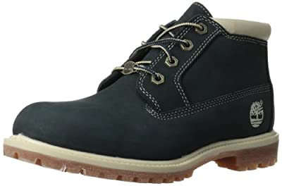 Timberland Women's Nellie Double Waterproof Ankle Boot,Navy,10 M US