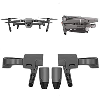 Tineer Quick-Released Landing Gear Leg Extension for DJI Mavic 2 Pro/Zoom, Folding Leg Support Feet Protector DJI Mavic 2 Accessories