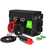 Green Cell 300W/600W 12V 220V/230V Onda Modificata Inverter Invertitore di Tensione Fotovoltaico DC...