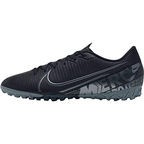 Nike Herren Vapor 13 Academy Tf Fußballschuh, Black MTLC Cool Grey Cool Grey, 42.5 EU
