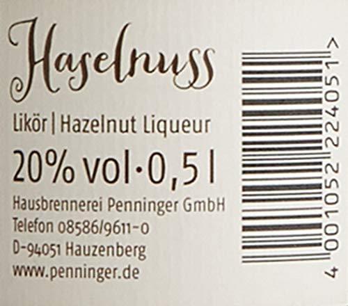 Penninger Haselnuss Likör (1 x 0,5 l) - 3