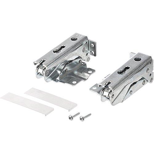 Bosch 00481147 Charnière pour porte, Set supérieur et inférieur pour réfrigérateurs et congélateurs