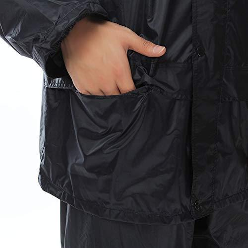 Wasserdicht Rainsuit Kreative Adult Raincoat Polizei, Außen beweglicher wasserdichter Regenjacke Wiederverwendbare Wasserdichte Regen-Poncho Regen-Mantel mit Kapuze und Ärmeln, Aktivitäten geeignet
