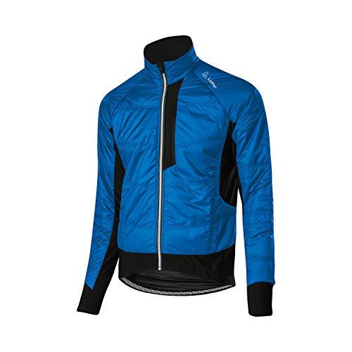 LÖFFLER M Bike ISO-Jacket Primaloft Mix Blau, Herren Primaloft Windbreaker, Größe 50 - Farbe Orbit