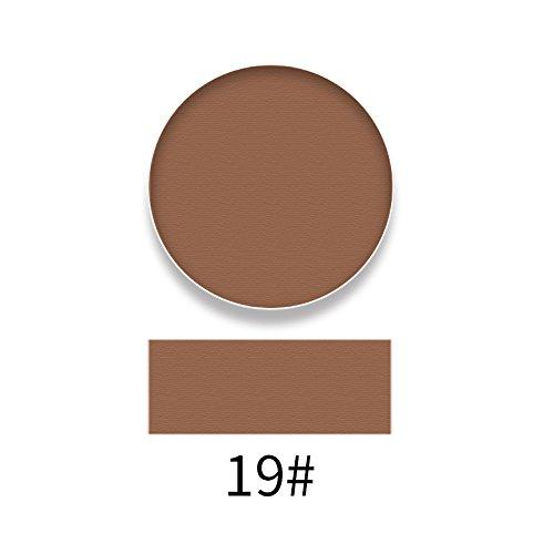 Momoxi Lidschatten,Augen Make-up Augenbrauenstift Matte langlebige bunte Lidschatten-Lidschatten-Presse-Puder-Kosmetik-Make-up