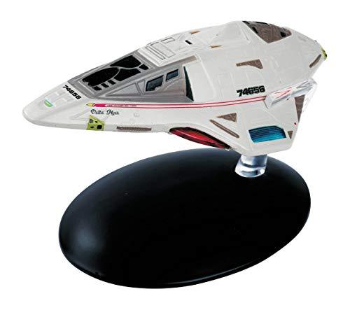 Eaglemoss Starfleet Delta Flyer Collection Modell - Star Trek die Offizielle Sammlung: Ausgabe #38 mit deutschem Magazin