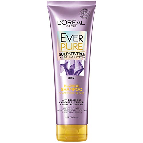 L'Oreal Paris EverPure Blonde Sulfate Free Shampoo 8.5 Fl. Oz (Packaging May Vary)