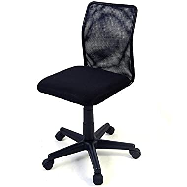 Tangkula Mid-back Adjustable Ergonomic Mesh Swivel Durable Office Chair