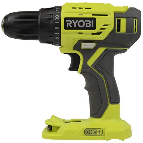 Ryobi P215 18V One+ 1/2-in Drill Driver (Bare tool) (Renewed)