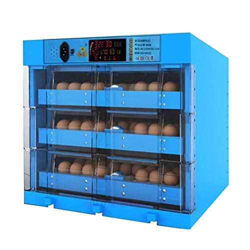 CHICTI Inkubator Brutmaschine Vollautomatisch 192 Hühner Eier Digitales Brutkasten Brutautomat Mit Temperaturregelung Für Wachteleier Vögel Ente Gänse Sprachtherapie