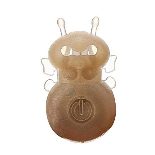 JWGD 1 PC 3D Bee magische Leuchtstofflampe holographische Projektion Magie Bee-Finger-Licht-magisches Spielzeug aus Kunststoff Visuelle Effekte Gadgets 3D (Farbe : As Photo Show)