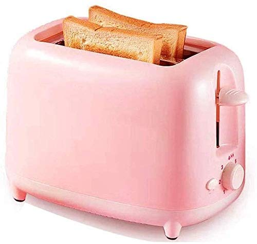 N/Z Home Equipment 2 Slice Extra Wide Slot Easy Toaster with Push-Button Toaster Home Defrost Feature Bagels Machine Breakfast Machine Spit Driver