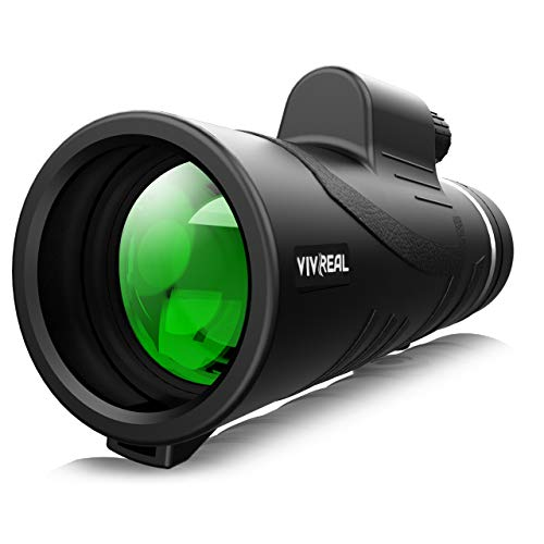 Monocular Telescope - 12X42 High Power Monocular for Bird Watching, IPX7 Waterproof HD Monocular...