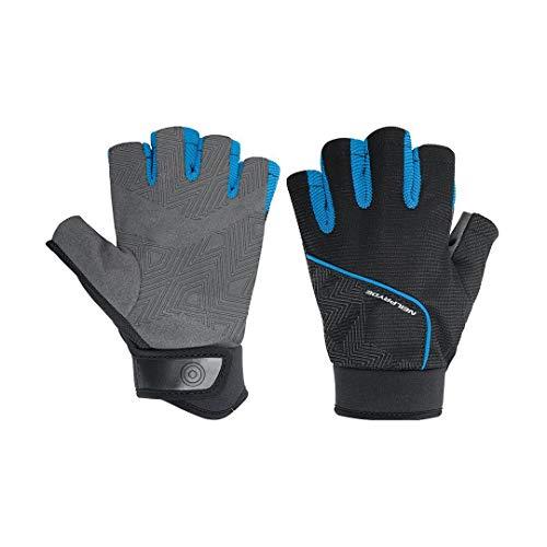 Neil Pryde Halffinger Amara - Guantes (Talla XS), Color Negro y Azul