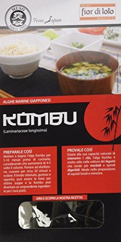 Fior di Loto Alghe Kombu Giapponesi - 50 gr