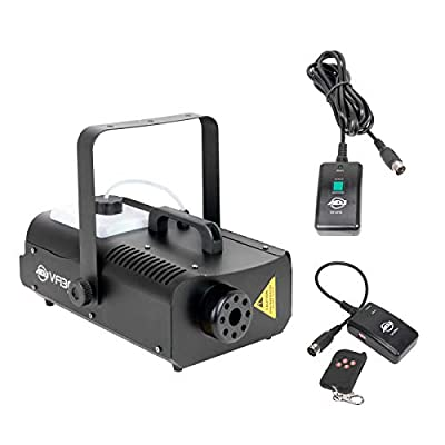 American DJ 1300 Watt 2.3 L Tank Mobile Fog Machine w/ Remote Controls | VF1300 from ADJ