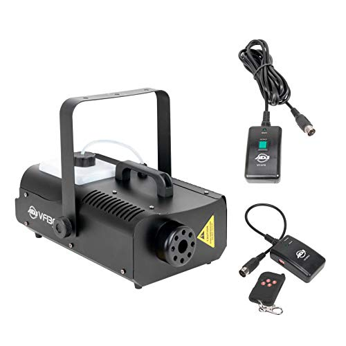 American DJ 1300 Watt 2,3L Tank Mobile Nebelmaschine mit Fernbedienung   VF1300