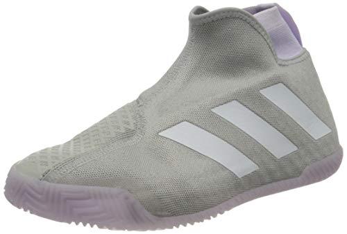 adidas STYCON Laceless Hard Court Gris Lila Mujer EF2696, Zapatillas de Tenis, 41 1/3 EU