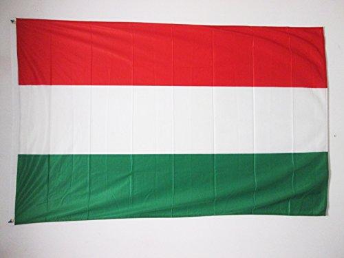 AZ FLAG Flagge UNGARN 150x90cm - UNGARISCHE Fahne 90 x 150 cm Aussenverwendung Metallösen - flaggen Top Qualität