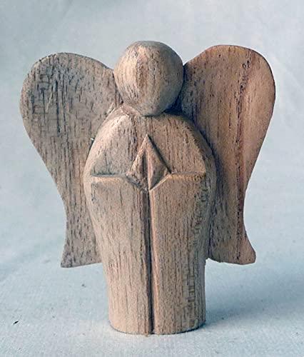 Engel sta. Soarhout hoogte ca. 5 cm
