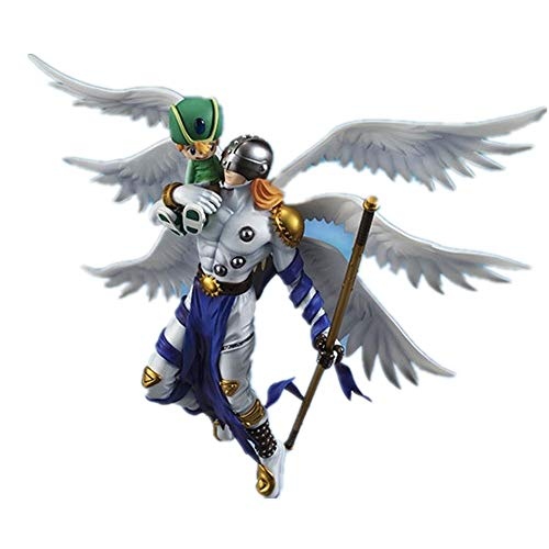 Jaypar Digimon Figura Angemon y Angewomon Figura Figura de acción de la Figura de acción de Escala 1/8 (Color : Angemon)