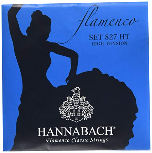 Hannabach 652937 Klassikgitarrensaiten Serie 827 High Tension Flamenco Classic - Satz