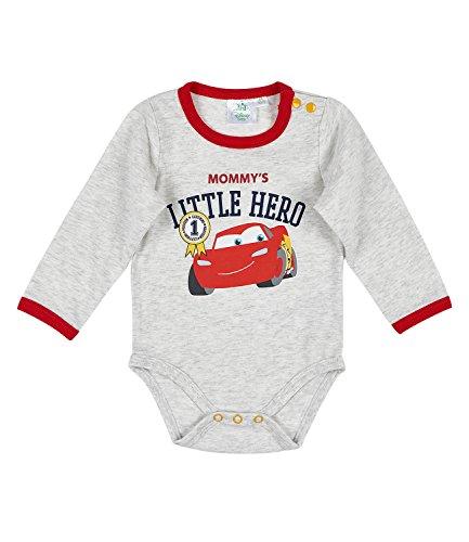 Disney Cars Babies Body bebé - Gris - 12M