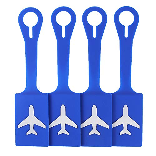 70% off 4 Pack Silicone Luggage Tags Use Promo Code: 70BIHQPO Works on all options with a quantity limit of 1 2